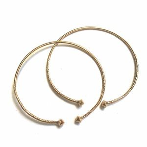 ✨ 2 adjustable bangles